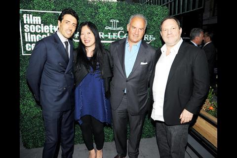 FSLC___Philippe_Bonay__Rose_Kuo__Charles_Finch__Harvey_Weinstein_6.13.13__Photo_by_Keith_Tiner_BFAnyc.com_